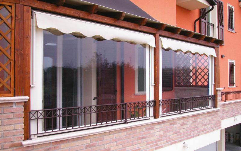 Tende Veranda Estate Inverno : Tende avvolgibili protezione solare e chiusure invernali e